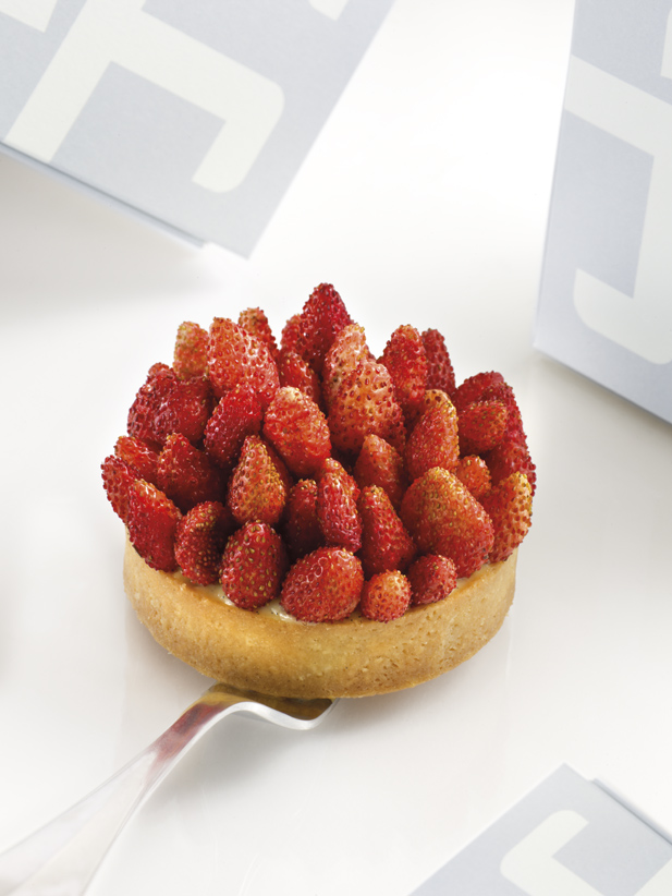 tarte fraises des bois thuri s gastronomie magazine. Black Bedroom Furniture Sets. Home Design Ideas
