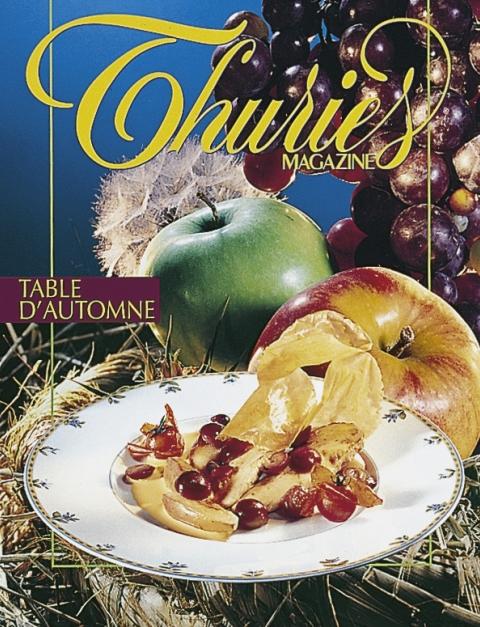 Thuriès Gastronomie Magazine N°72 Septembre 1995