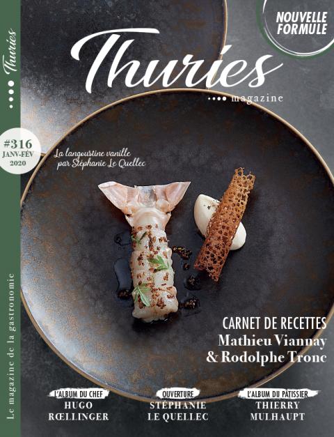 Thuriès Gastronomie Magazine N°316 janvier 2020