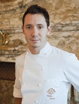Cédric Grolet, chef pâtissier au Meurice