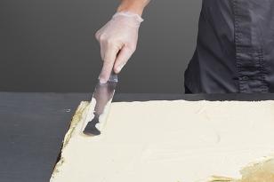 Recouvrir le biscuit pistache