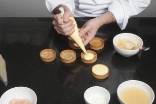 Pocher la crème citron vert