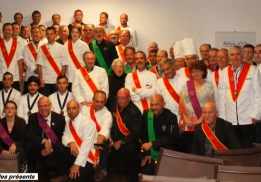 L'ensemble des disciples Escoffier