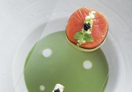 Dos de saumon par Davy Tissot