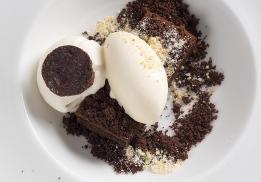 Moelleux au chocolat par Andrée Rosier
