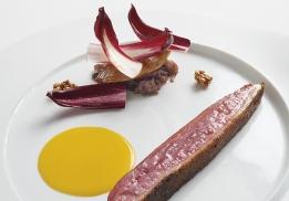 Canard et compote d'oignon par Mauro Colagreco