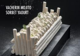 VACHERIN MOJITO SORBET YAOURT