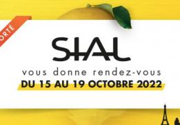 SALON INTERNATIONAL DE L'ALIMENTATION (SIAL) - PARIS 18 ET 22 OCTOBRE 2020