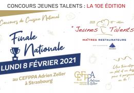 Finale nationale du concours des Jeunes Talents - Maîtres Restaurateurs 2020
