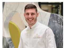 PIERRE-JEAN QUINONERO, NOUVEAU CHEF PATISSIER DE L'HOTEL LE BURGUNDY PARIS