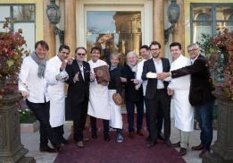 Grands chefs et sommeliers participants au CheeseDay