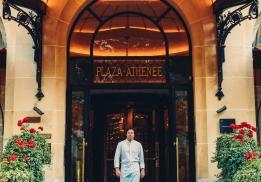 Jean Imbert nommé chef des cuisines de l'Hôtel Plaza Athénée