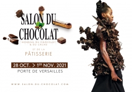 26e ÉDITION DU SALON DU CHOCOLAT À PARIS DU 28 OCTOBRE AU 1ER NOVEMBRE