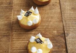 Tartelette au citron par Sébastien Bouillet