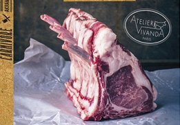 Carnivore, un livre du chef Akrame
