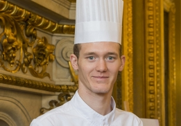 Amandin Colvray, vainqueur du Challenge foie gras des Jeunes Créateurs