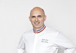 Angelo Musa, chef pâtissier exécutif de l'Hôtel Plaza Athénée.