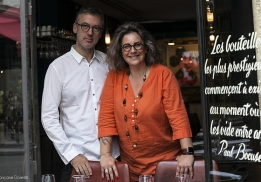 Bruno Blain et Caroline Savoy