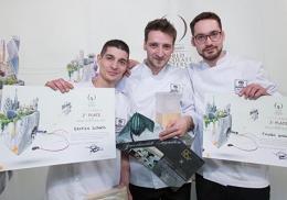 Bastien Berger, Yoann Laval et Thomas Corre