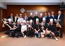Les lauréats de la Coupe de France des jeunes chocolatiers-confiseurs