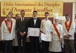 Trophée Jeunes talents Escoffier