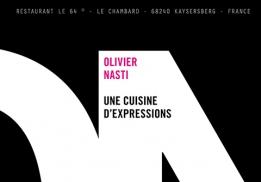 Une cuisine d'expressions, un livre d'Olivier Nasti