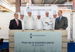 L'école Le Cordon Bleu Paris s'installe sur le devant de la Seine