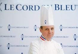 Éric Briffard, chef exécutif et directeur des arts culinaires de l'école Le Cordon Bleu Paris