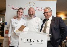 Clémence Perraut, élue « Jeune Talent Maître Restaurateur 2017 »