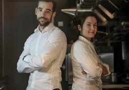 Jonathan Caron et Anne Legrand