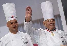 Jérôme et Paul Bocuse