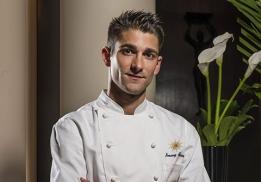 JImmy Mornet, nouveau chef pâtissier du Park Hyatt Paris-Vendôme.