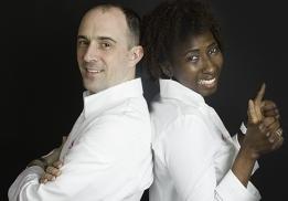 Gnagalé Sissoko et Kévin Bézier