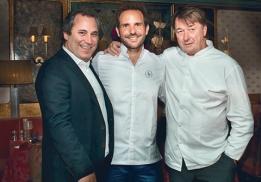 Benjain Patou, Christophe Michalak, Jean-Pierre Vigato
