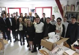Les élèves du Lycée Saint-Méen-le-Grand