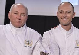 René et Maxime Meilleur, chefs de La Bouitte