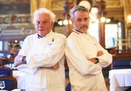 Michel Rostang et Mathieu Viannay