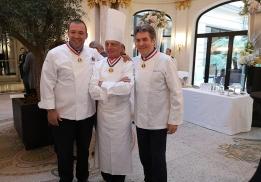 Guillaume Gomez, Pierre Orsi et Michel Roth