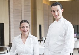 Anne-Sophie Pic et Pablo Boscaro