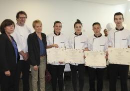 Concours pâtisserie Lycée Georges-Frêche
