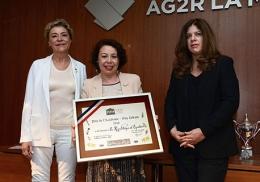 Le Prix de l'Académie - Guy Urbain décerné à la République de l'Équateur,