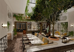 Le restaurant Royal Madeleine à Paris