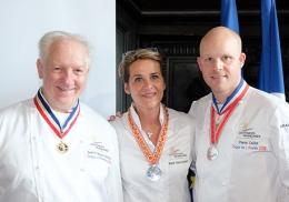 Jean-François Girardin, Marie Sauce-Bourreau et Pierre Caillet