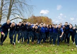 L'équipe de France des métiers lors de l'EuroSkills 2018 à Budapest