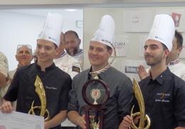 Tommy Teboul, Johan Gagnard et Julien Zarate.
