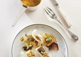 Bar, fenouil, citron par Christophe Saintagne