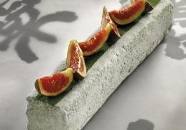 Cake matcha figues par Franck Fresson