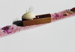 La framboise prise en gelée par Nicolas Fages
