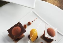 Sphère Chocolat par Patrice Ibarboure
