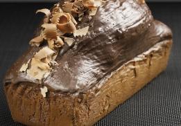 Cake chocolat aux pépites par Philippe Rigollot